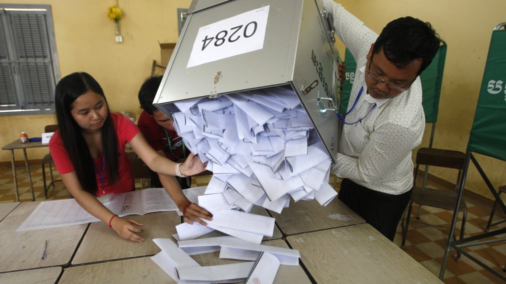 Cambodia's Ruling Party Coasts to Victory in Election With ...