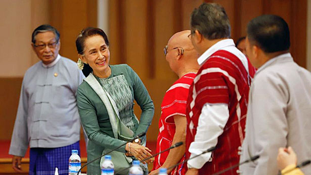 Peace Accord Signatories To Hold Talks With Myanmar State Counselor