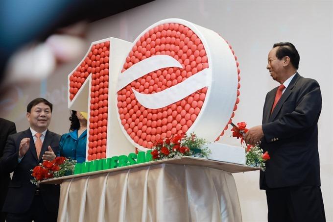 Metfone revenue tops $2.2 billion over 10 years in Cambodia