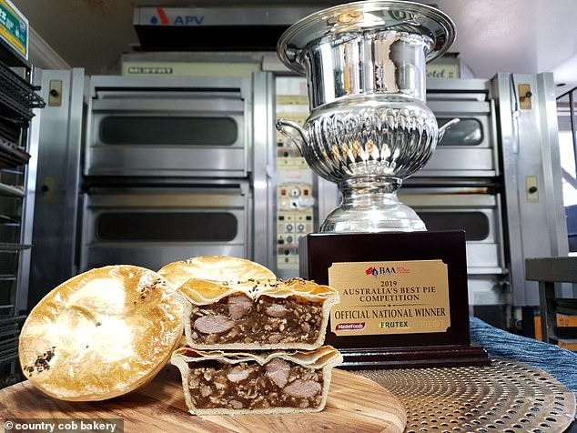 Baking news! The BEST meat pie in Australia has been named after a