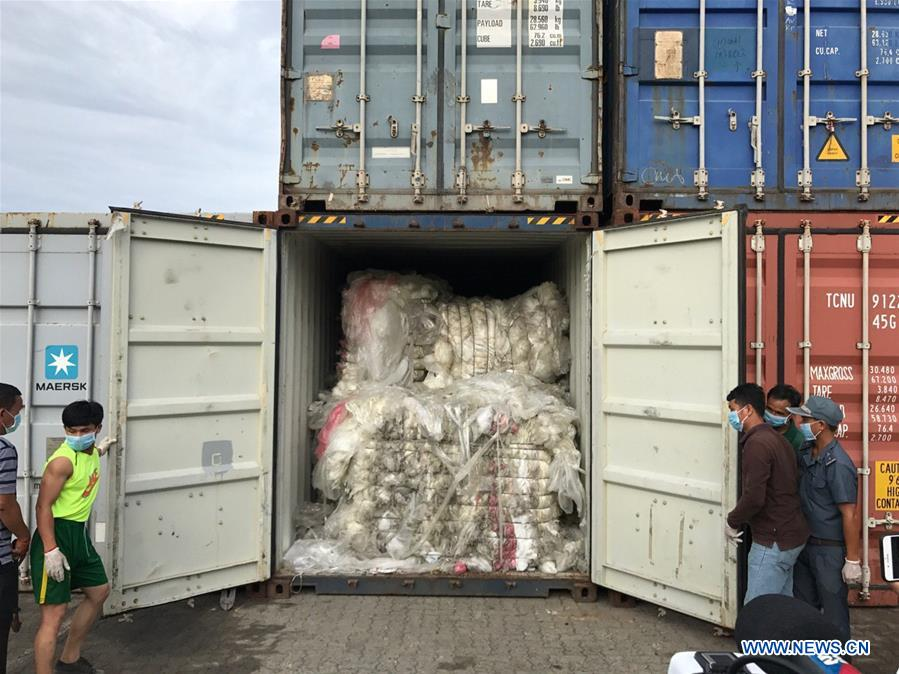 Cambodia takes tough measures to curb plastic waste imports - The